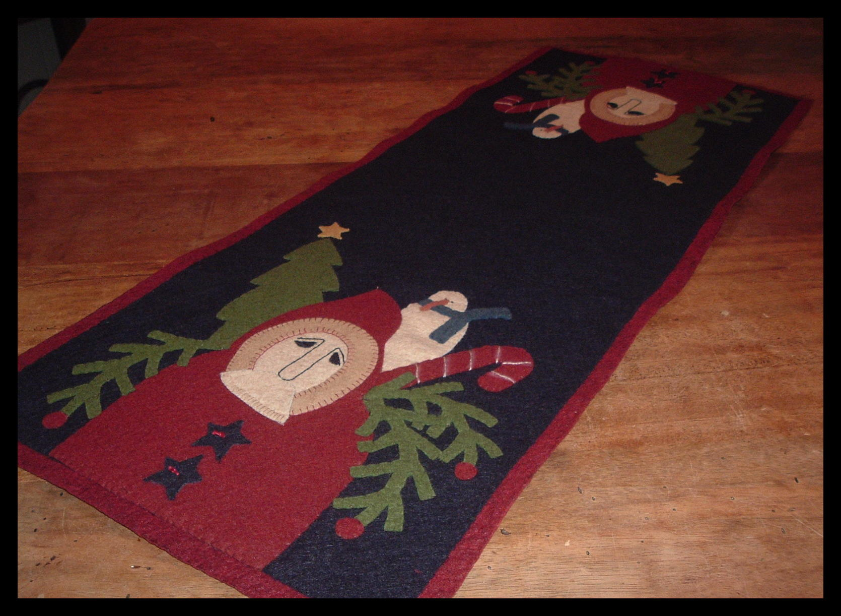Christmas Wool Applique And Wool Felt Applique Patterns